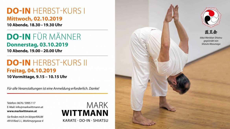DO-IN (Japanisches Yoga) – HERBST-KURS II