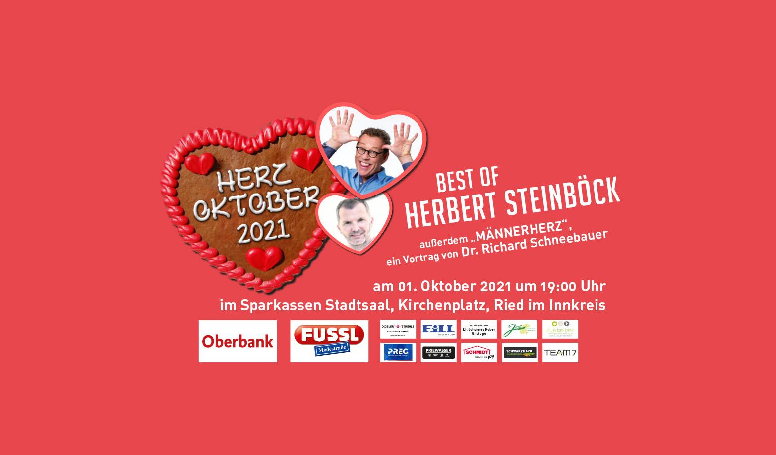 Herzoktober mit Herbert Steinböck